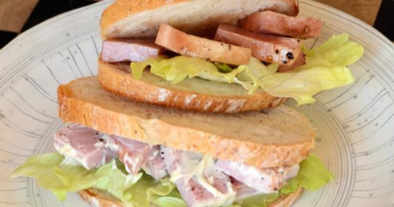 ハムマリネ風サンドイッチ