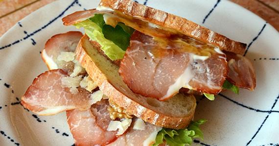 ラックスシンケンのサンドイッチ