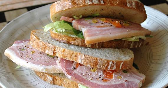 ローストベリーのサンドイッチ