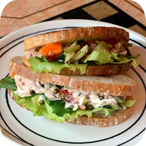 特製ツナのサンドイッチ